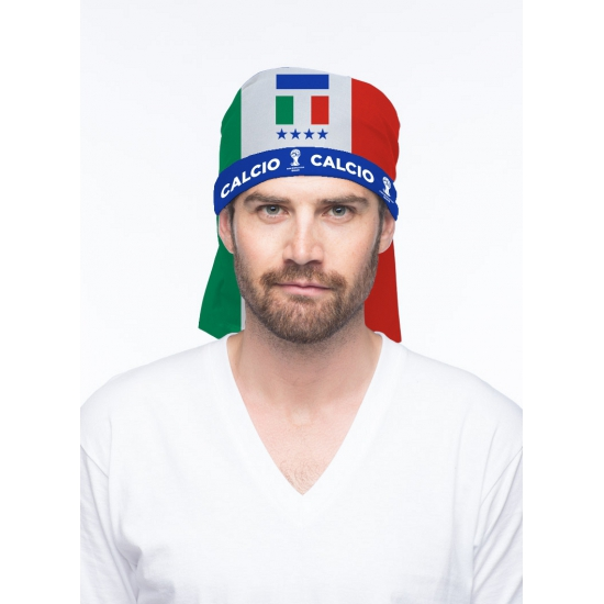 Italiaanse supporter bandana
