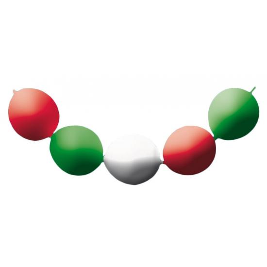 Italie slinger met 24 ballonnen