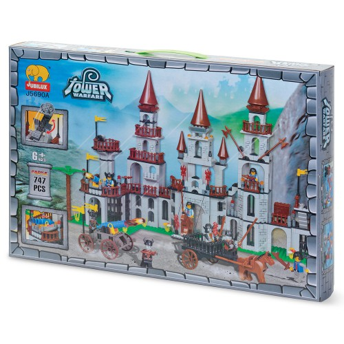 Jubilux kasteel bouwstenen