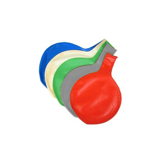 Jumbo ballon grijs 65 cm