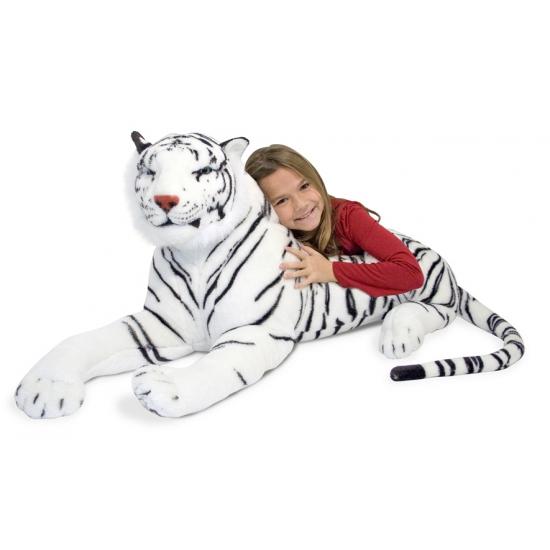 Jumbo witte tijger 170 cm