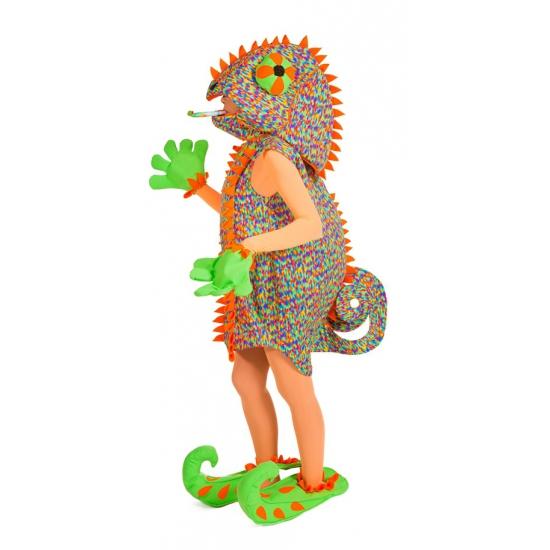 Kameleon hagedis kostuum