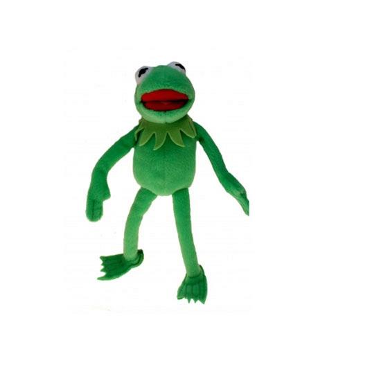 Kermit de Kikker knuffel 35 cm