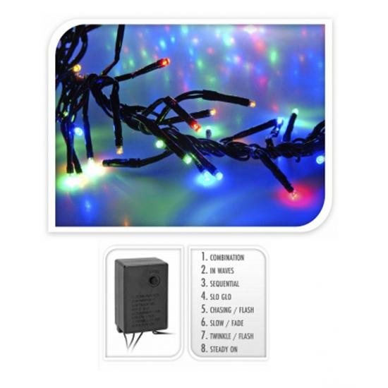 Kerstboom gekleurde verlichting 192 lampjes