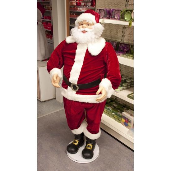 Kerstman decoratie pop 150 cm