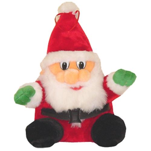 Kerstman knuffel 27 cm