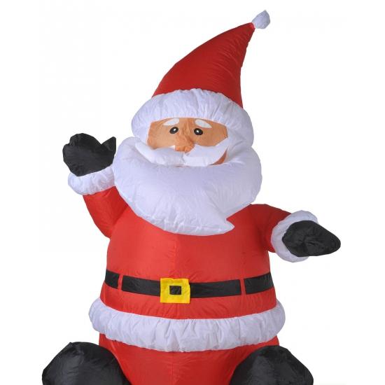 Kerstman opblaasbaar 120 cm