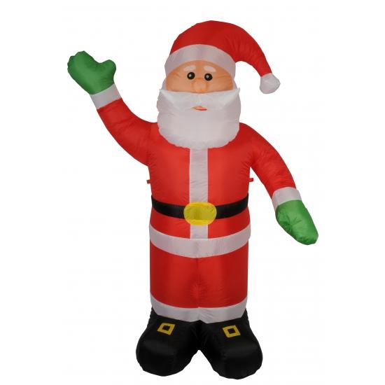 Kerstman opblaasbaar 180 cm