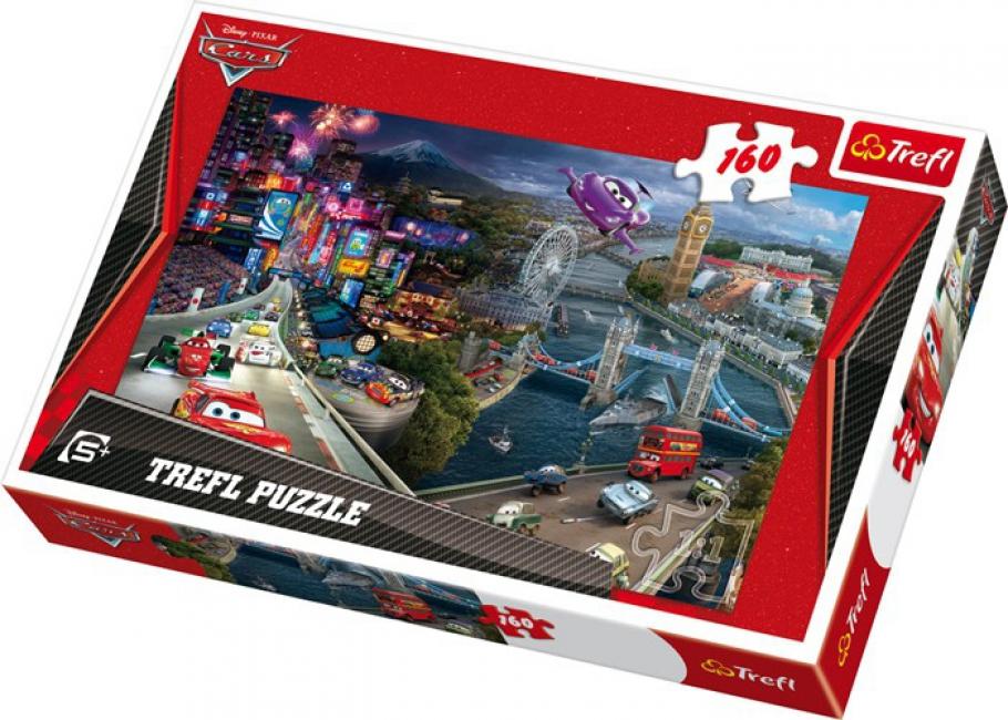 Kids puzzel Disney Cars 160 stukjes