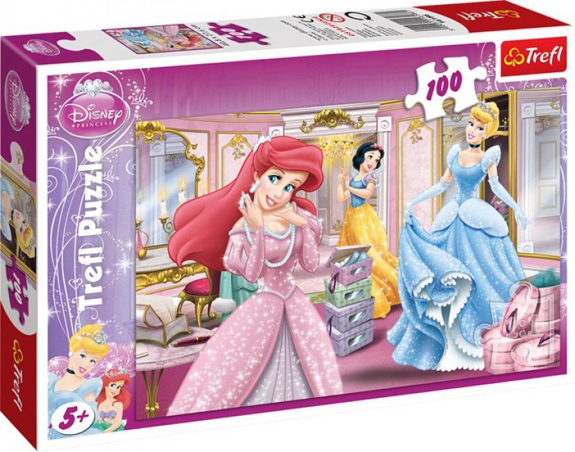 Kids puzzel Disney Prinsessen 100 stukjes