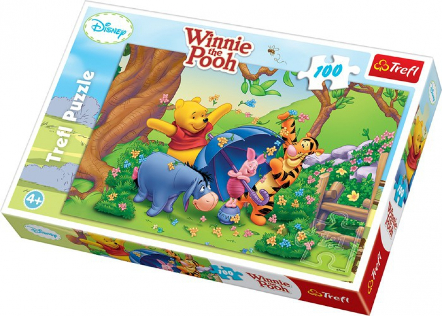 Kids puzzel Disney Winnie de Poeh 100 stukjes