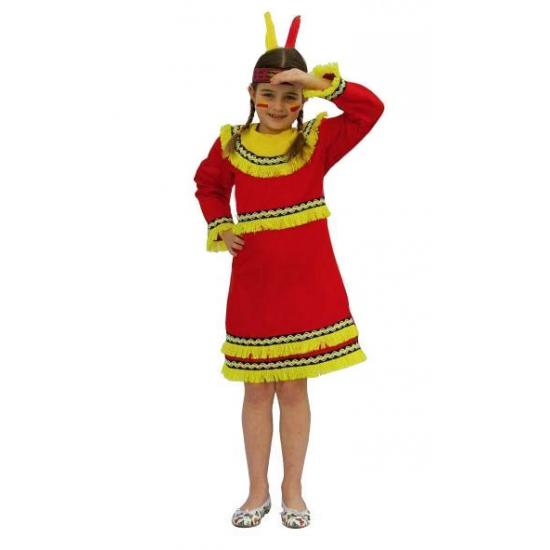 Kinder indianen jurk voor meiden