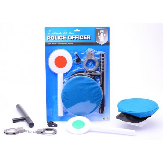 Kinder speelgoed set politie