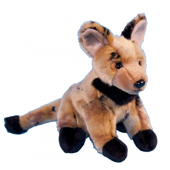 Knuffel hyena van 21 cm