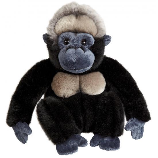 Knuffeldier gorilla 23 cm