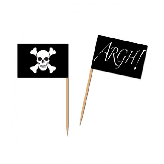 Landen cocktailprikkers piraten