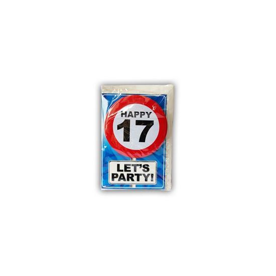 Leeftijd ansichtkaart 17 jaar