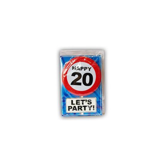 Leeftijd ansichtkaart 20 jaar