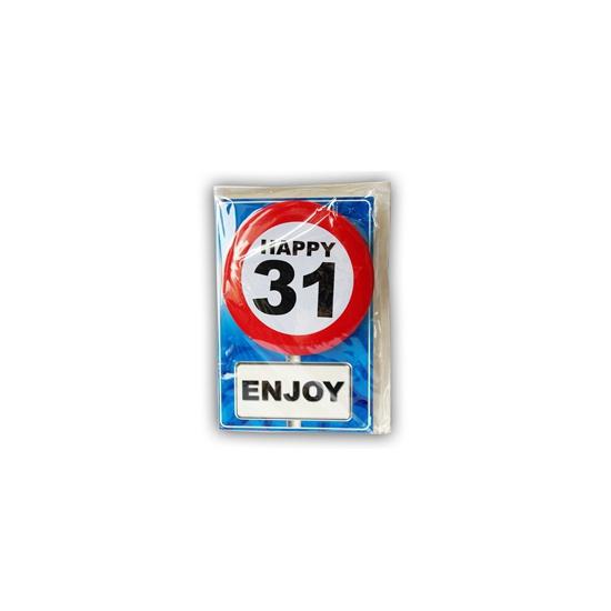 Leeftijd ansichtkaart 31 jaar