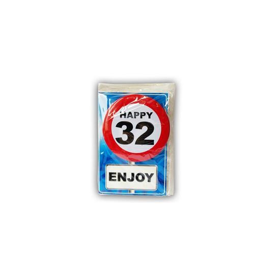 Leeftijd ansichtkaart 32 jaar