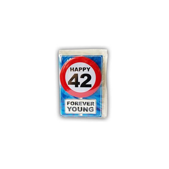 Leeftijd ansichtkaart 42 jaar