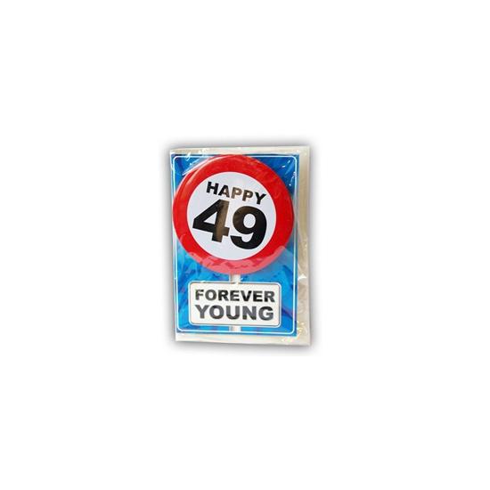 Leeftijd ansichtkaart 49 jaar