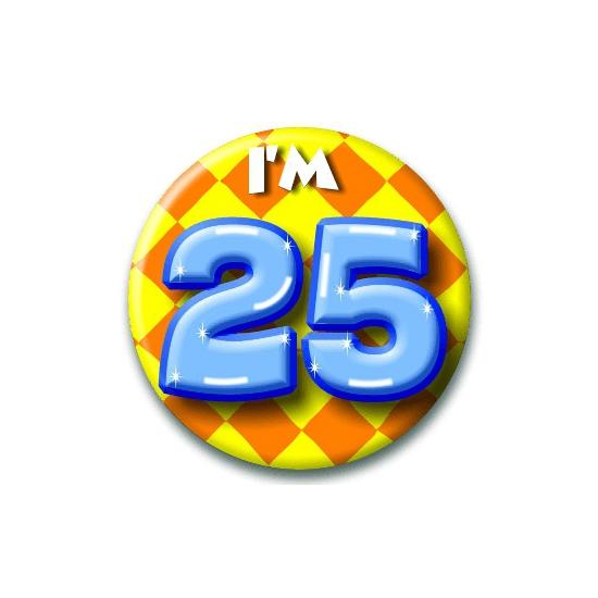 Leeftijd button 25 jaar