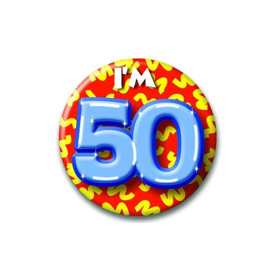 Leeftijd button 50 jaar