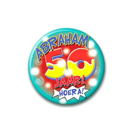 Leeftijd button Abraham 50 jaar