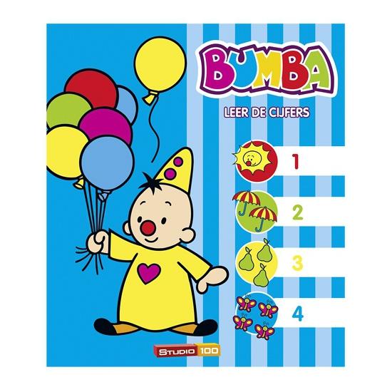 Leer de cijfers boek Bumba en vriendjes