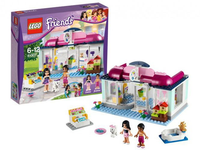 Lego 41007 Friends dierensalon beste prijs