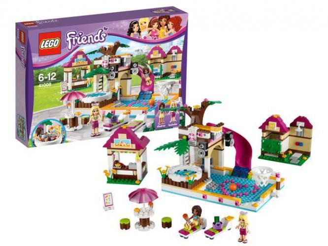 Lego 41008 Friends zwembad beste prijs