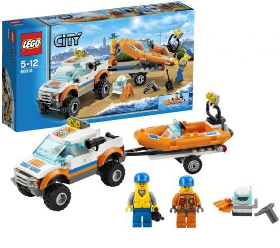 Lego 60012 Reddingsteam beste prijs