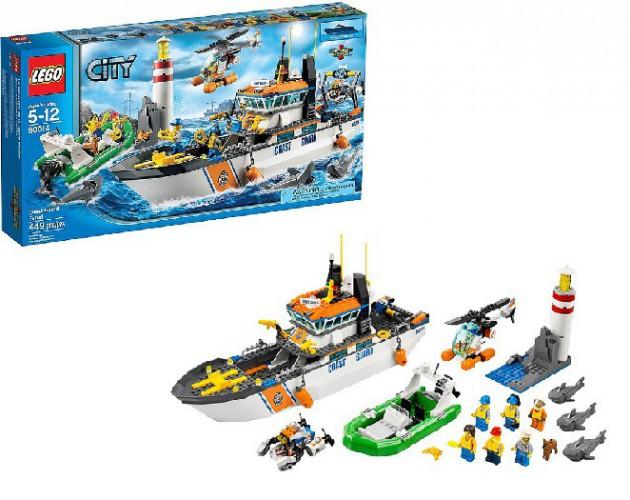 Lego 60014 City kustwacht patrouille beste prijs