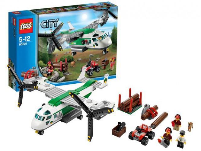 Lego 60021 City Vrachtvliegtuig beste prijs