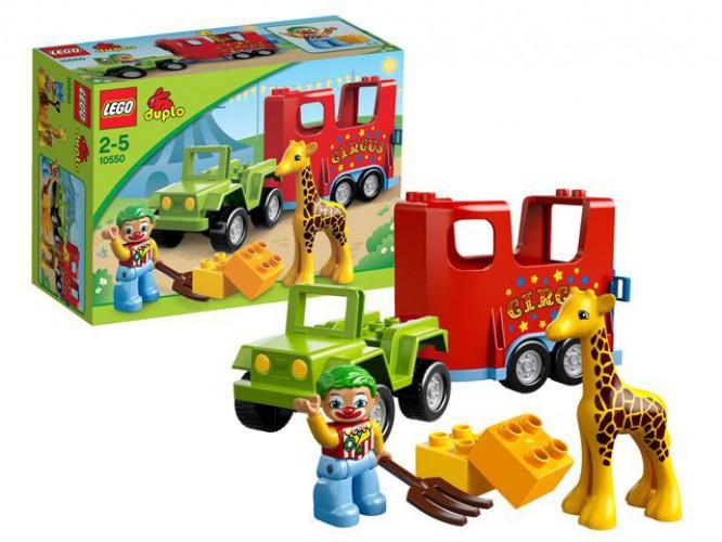 Lego Duplo 10550 Circus beste prijs