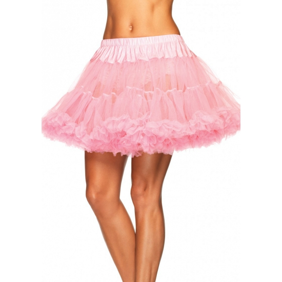 Licht roze luxe petticoat