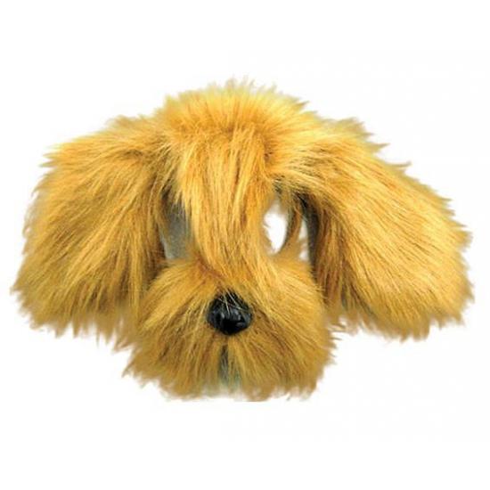 Lichtbruine hondjes maskers