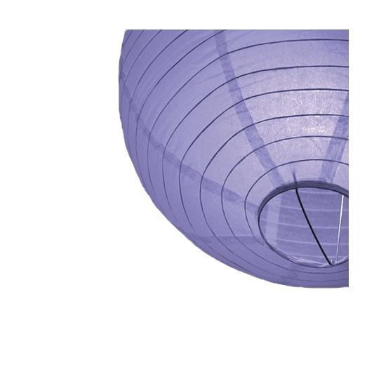 Lichtpaarse lampionnen 25 cm