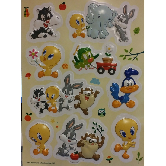 Looney Tunes artikelen kinderkamer stickers