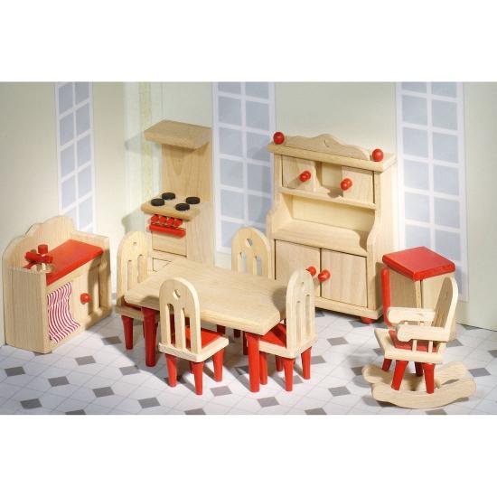 Luxe poppenhuis keuken meubels