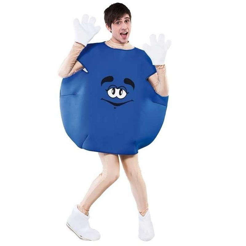M en M outfit blauw