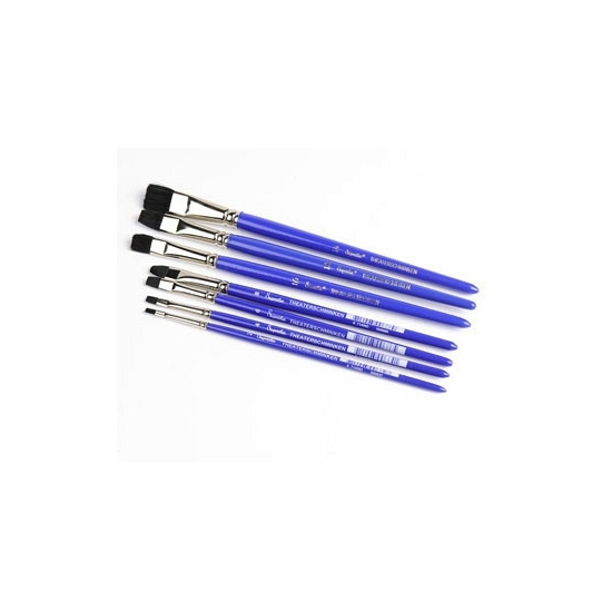 Make up penseel plat nr  6