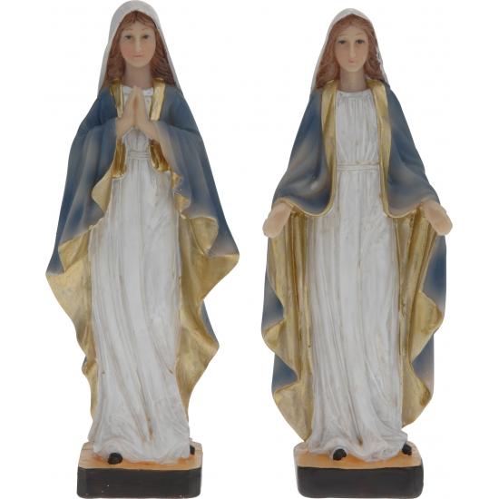 Maria decoratie beeld 21 cm