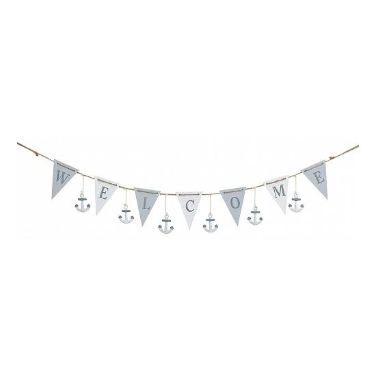 Maritiem thema decoratie slinger 100 cm