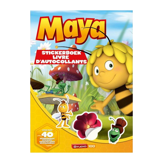 Maya de Bij en haar vriendjes stickerboek