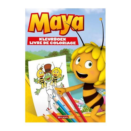 Maya de Bij kleurboeken