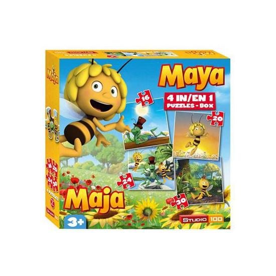 Maya de Bij puzzel 4 stuks
