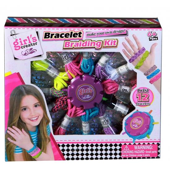 Meisjes speelgoed set armbandjes maken