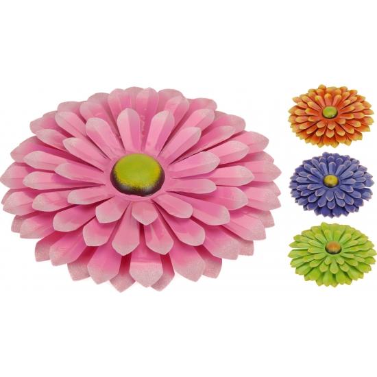 Metalen bloem 34 cm